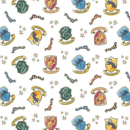 FLANNEL - Harry Potter Soft Wash Hogwarts Flannel Fabric