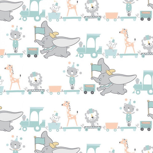 Disney Dumbo Toy Parade Fabric