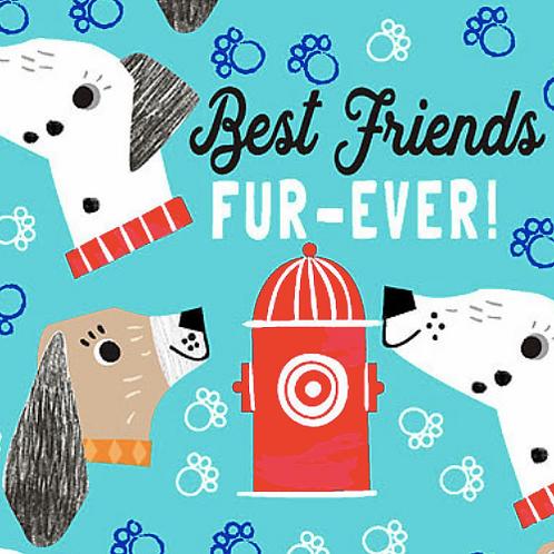 Best Friends Fur-Ever Dark Turquoise