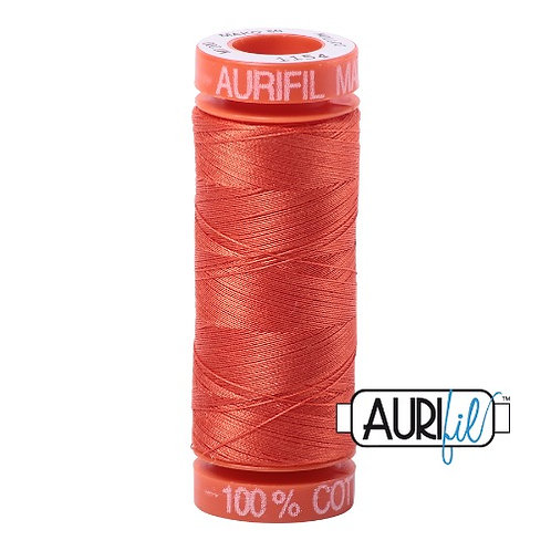 Aurifil 50 200m 1154 Cotton Thread Dusty Orange