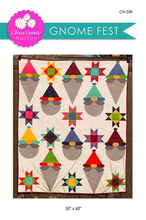 Gnome Fest Quilt Pattern
