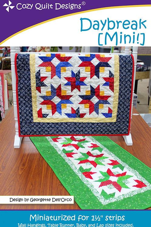 Cozy Quilt Designs Daybreak Mini Quilt Pattern