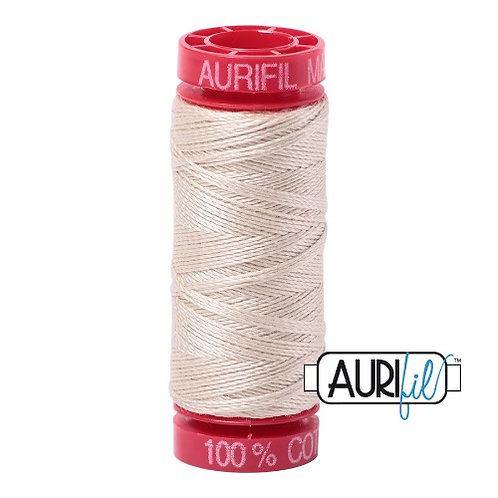 Aurifil 12 50m 2310 Light Beige Cotton Thread