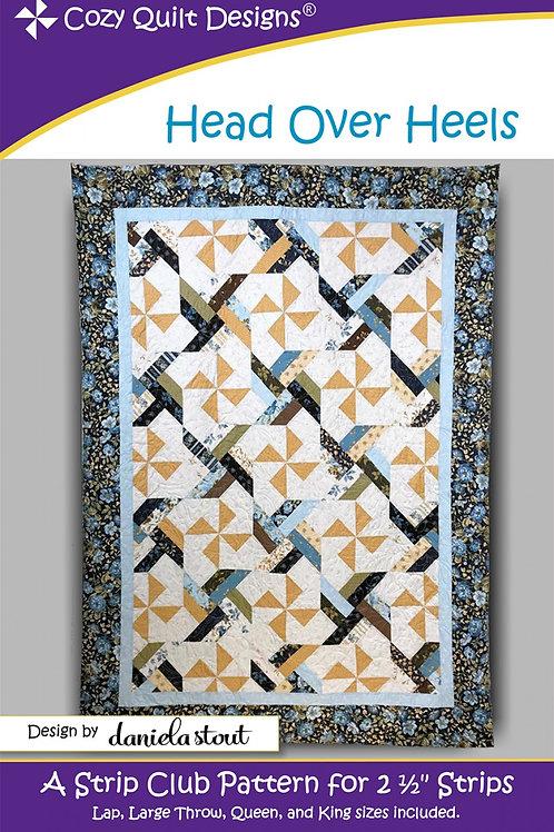 Cozy Quilt Designs Head Over Heels Quilt Pattern