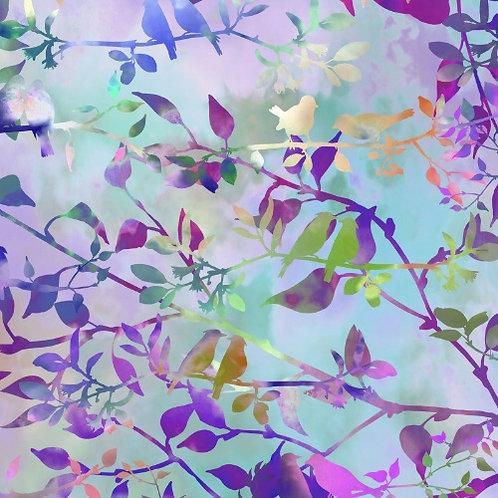Garden of Dreams Fabric - Lavender