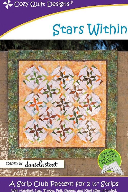 Cozy Quilt Designs Stars Within Quilt Pattern