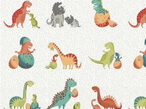LP Makower Dinosaur Fabric