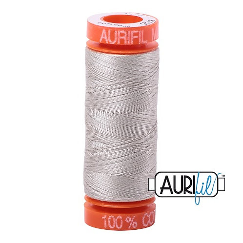 Aurifil 50 200m 6725 Cotton Thread Moondust