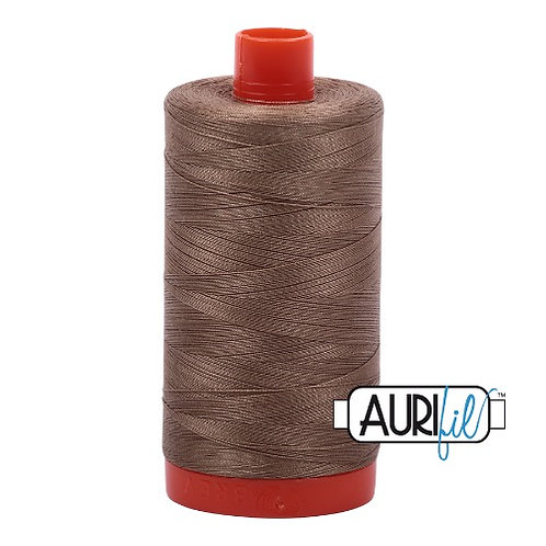 Aurifil 50 1300m 2370 Sandstone Cotton Thread