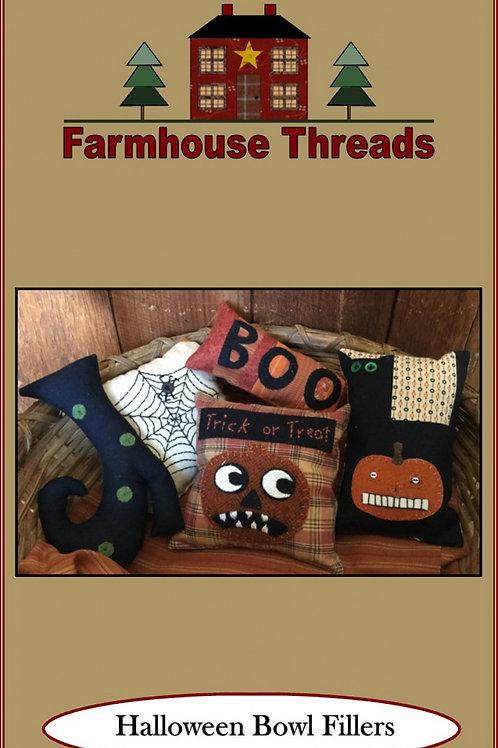 Halloween Bowl Fillers Pattern