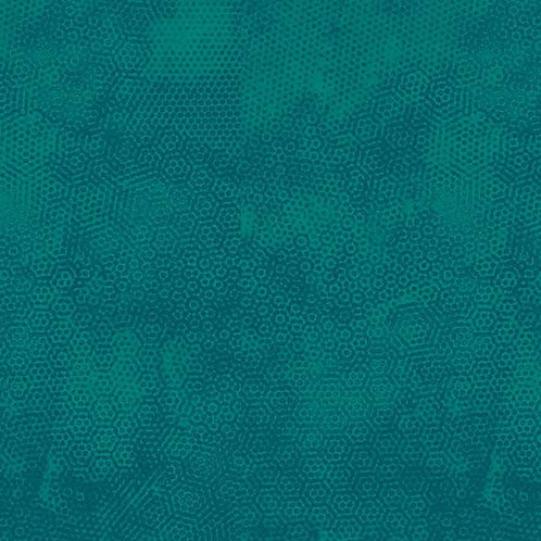 1867/T18 Bondi Blue Makower Andover Dimples Fabric