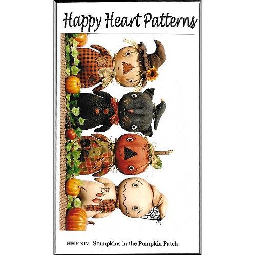 Stumpkins in the Pumpkin Patch Pattern