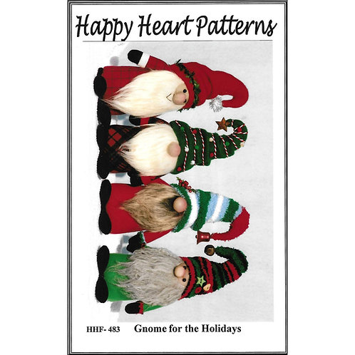 Gnome for the Holidays Pattern