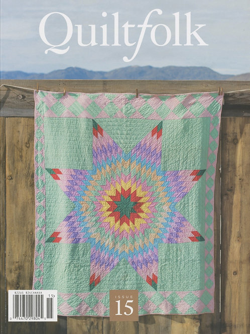 Quiltfolk Magazine Issue 15 Nevada No ads.