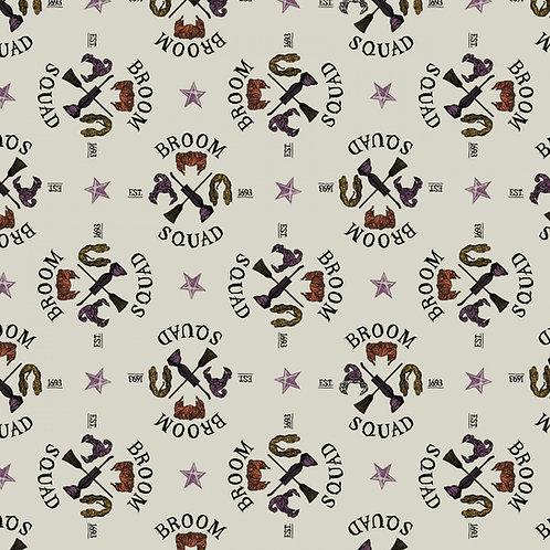 Disney Hocus Pocus Broom Squad Fabric