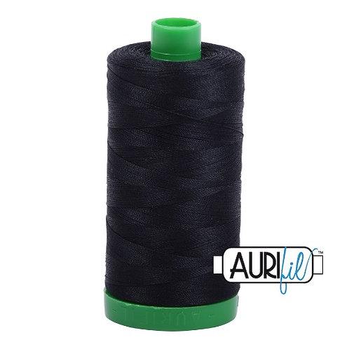 Aurifil 40 1000m 2692 Black Cotton Thread