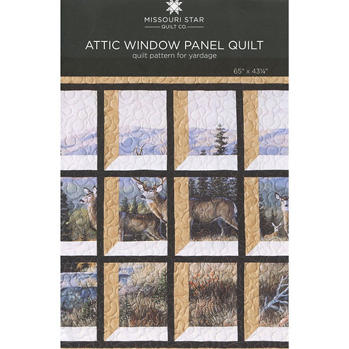 Missouri Star Attic Window Panel Quilt Pattern