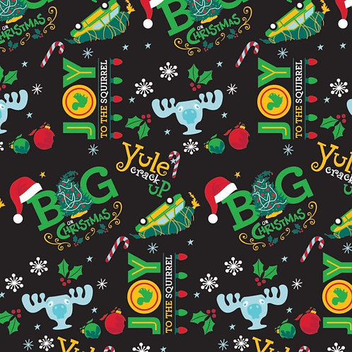 Christmas Vacation Big Christmas Fabric