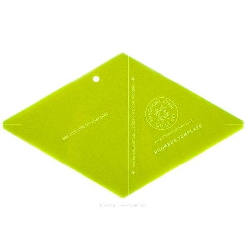 Missouri Star Quilt Company Rhombus Template - Small
