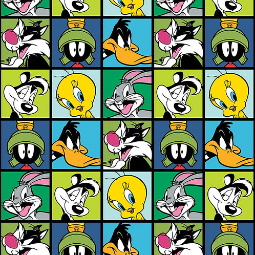 Blue Looney Tunes Character Blocks