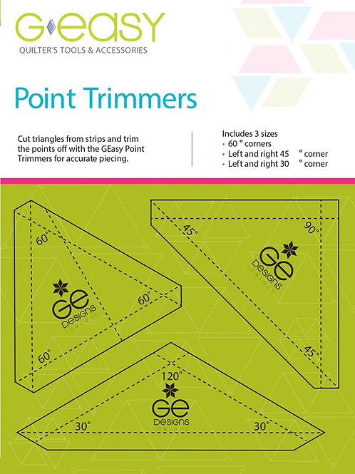 GEasy Point Trimmers Template Set