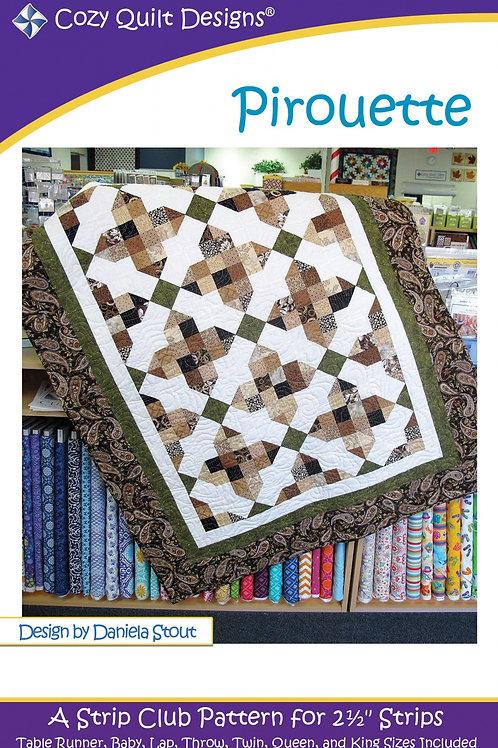 Cozy Quilt Designs Pirouette Quilt Pattern
