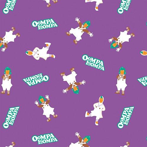 Willy Wonka Oompa Loompa Fabric
