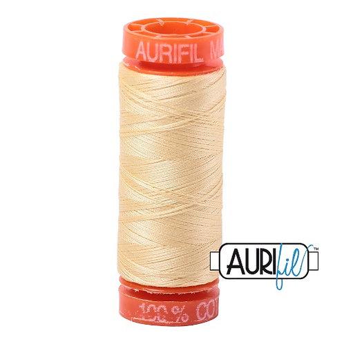 Aurifil 50 200m 2105 Cotton Thread Champagne