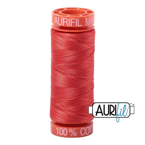 Aurifil 50 200m 2277 Cotton Thread Light Red Orange