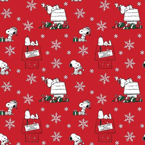 Do Not Open Snoopy Christmas Fun Fabric