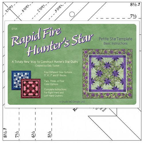 Rapid Fire Hunter's Star Template