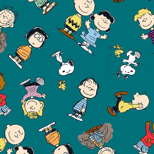 Peanuts Snoopy and Friends Fabric
