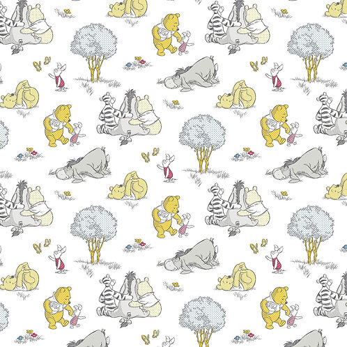 Winnie the Pooh Togetherish Fabric