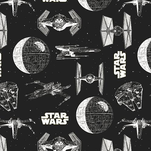 Jersey - Star Wars Ships Fabric