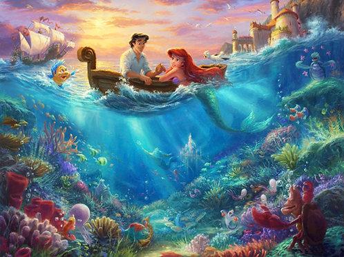 Disney Dreams Little Mermaid Panel