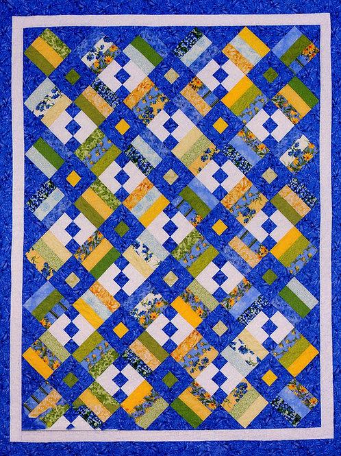 Cozy Quilt Designs Chain Letter Quilt Pattern