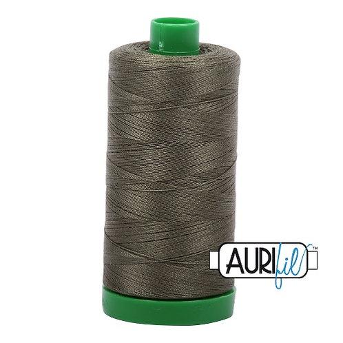 Aurifil 40 1000m 2905 Army Green Cotton Thread