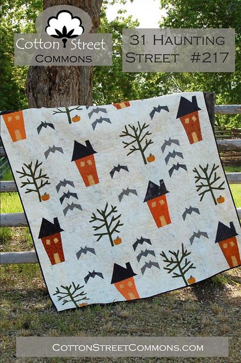31 Haunting Street Quilt Pattern
