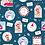 Thumbnail: Christmas Gift Tags Christmas Post Fabric