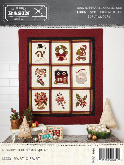 A Merry Christmas Quilt Pattern