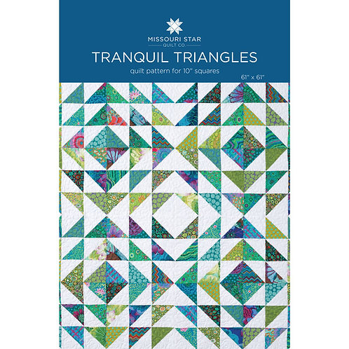 Missouri Star Tranquil Triangles Quilt Pattern