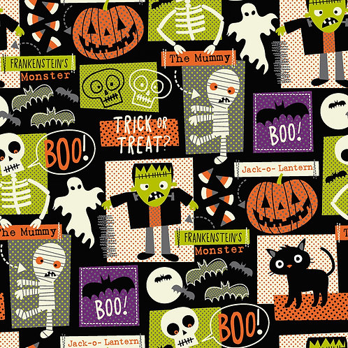 Halloween Party Fabric