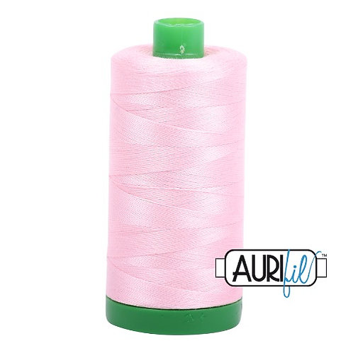 Aurifil 40 1000m 2423 Baby Pink Cotton Thread