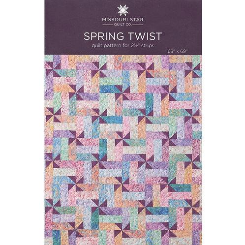 Missouri Star Spring Twist Quilt Pattern