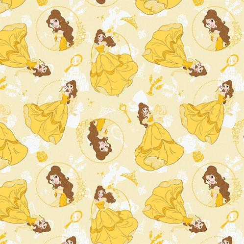 Disney Belle Fabric