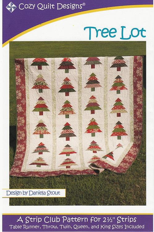 Cozy Quilt Designs Tree Lot Quilt Pattern