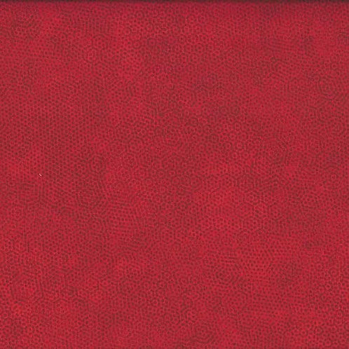 1867/R1 Crimson Makower Andover Dimples Fabric