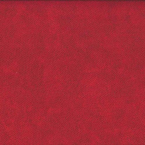 1867/R1 Crimson Makower Andover Dimples Fabric