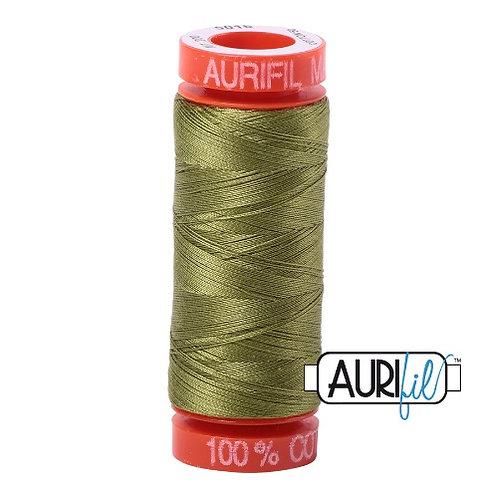 Aurifil 50 200m 5016 Cotton Thread Olive Green