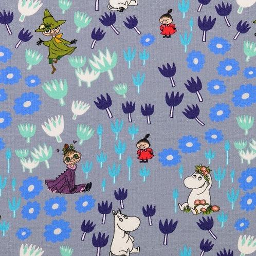 Moomin Characters Jersey Fabric